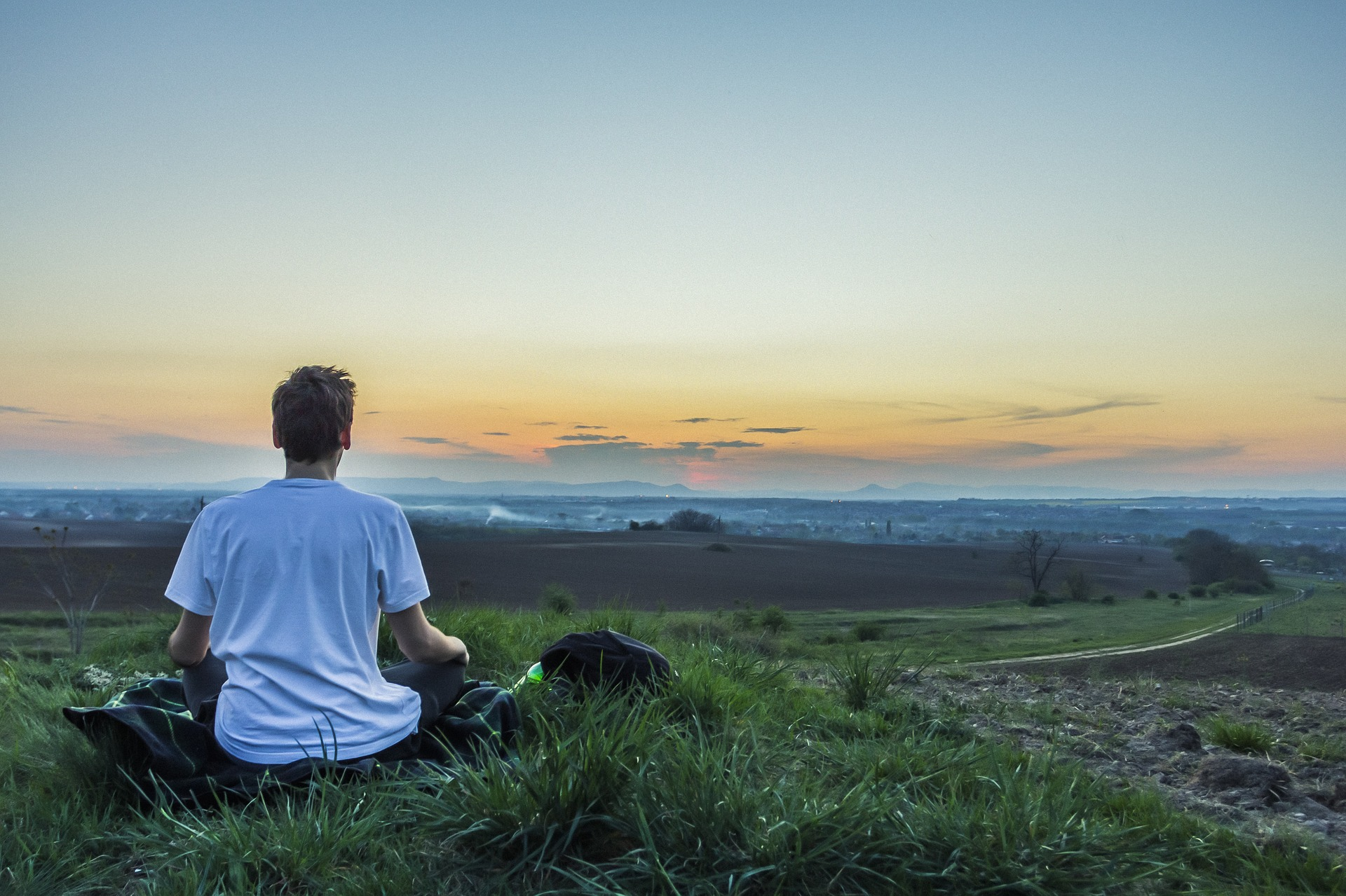 Meditation can help you remain calm throughout stressful or chaotic situations.